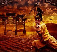 """Wushu series """"Desert Sand"""" by Lazius Kaye"""