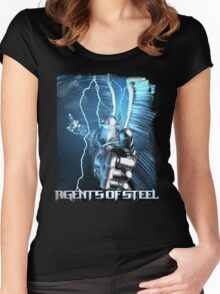 Agents Of Steel 1 Women's Fitted Scoop T-Shirt
