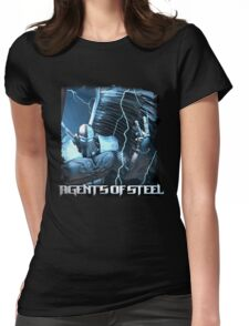 Agents Of Steel 2 Womens Fitted T-Shirt