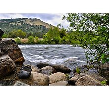 American River at Coloma, CA Photographic Print