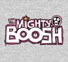 The Mighty Boosh – Dripping Pink Writing & Mask One Piece - Long Sleeve