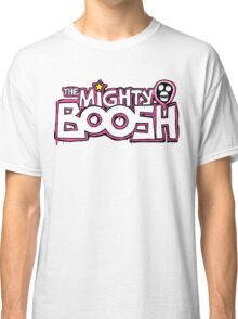 The Mighty Boosh – Dripping Pink Writing & Mask Classic T-Shirt