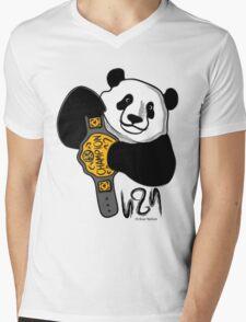 The Champ Is Bear! Mens V-Neck T-Shirt