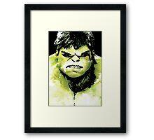 The Incredible Hulk Artwork Framed Print