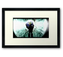 "Hello Robo series ""Worship"" Framed Print"