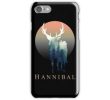 Forest Ravenstag 2 [Black Background] iPhone Case/Skin