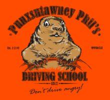 Punxsutawney Phil's Driving School Kids Clothes