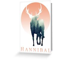 Forest Ravenstag Greeting Card
