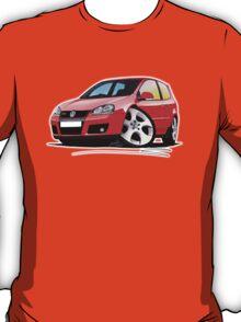 VW Golf GTi (Mk5) Red T-Shirt