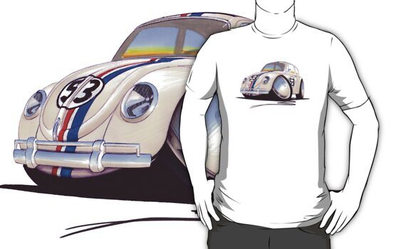 VW Beetle - Herbie by Richard Yeomans