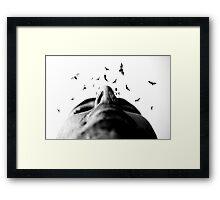 """Bodylandscapes """"Le visage"""" 3/3 Framed Print"""