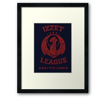 Magic the Gathering: IZZET LEAGUE Framed Print
