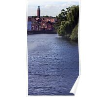 Norwich River View Poster