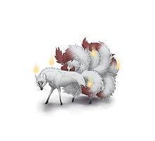 Kitsune Fire by farorenightclaw