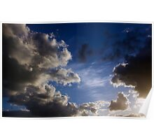 May Storm Clouds Over East Anglia Poster