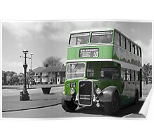 Big Green Bus Poster