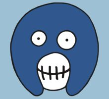 The Mighty Boosh – Blue Mask One Piece - Short Sleeve