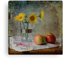 Still Life With Fruits Canvas Print