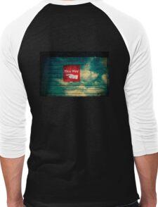 follow the finger - tee Men's Baseball ¾ T-Shirt