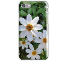 shining white petals iPhone Case/Skin
