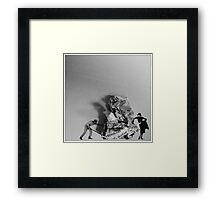 Heavy paper Framed Print