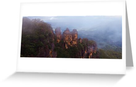 The Misty Sisters by Mark  Lucey