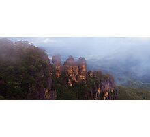 The Misty Sisters Photographic Print