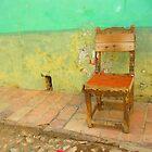 Chair Solo - Trinidad, Cuba by fionapine