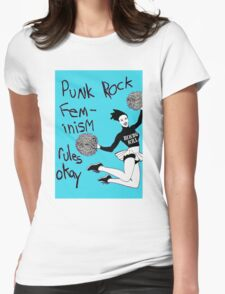 Bikini Kill Punk Rock Feminism Rules Okay! T-Shirt