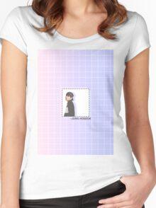 Gradient Hoseok (J-HOPE) Women's Fitted Scoop T-Shirt