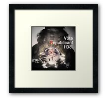 Vote Republican! 4 Framed Print