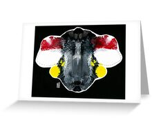 Mr. Flew - Night Runner Greeting Card