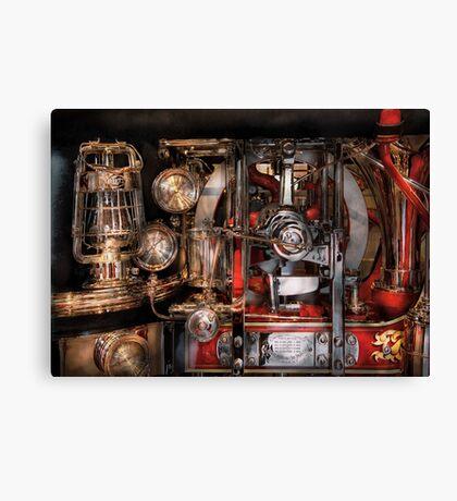 Steampunk - Check the gauges  Canvas Print
