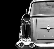 Oldtimer (black&white) by Beate Gube
