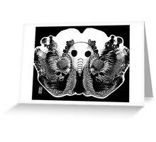 Brilliant Bones Greeting Card
