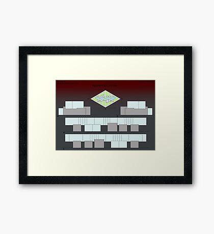atelier facades Framed Print