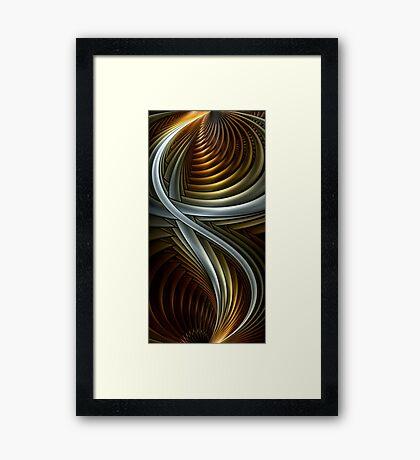 Splits Fire 1 Framed Print