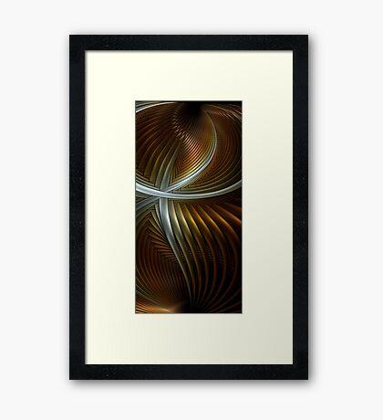 Splits Fire 2 Framed Print