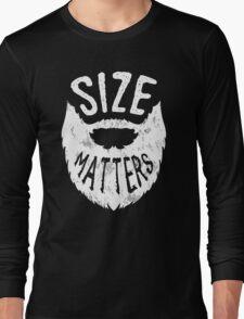 Size Matters. Long Sleeve T-Shirt