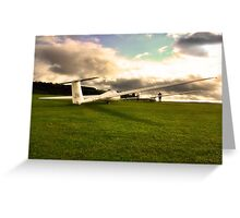 A Glider or Two Greeting Card