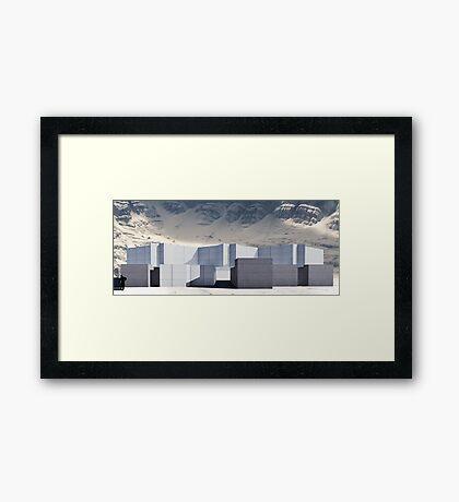 render 1 Framed Print