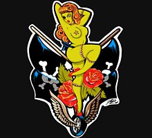 Zombie Pin-Up Girl Shirt Unisex T-Shirt