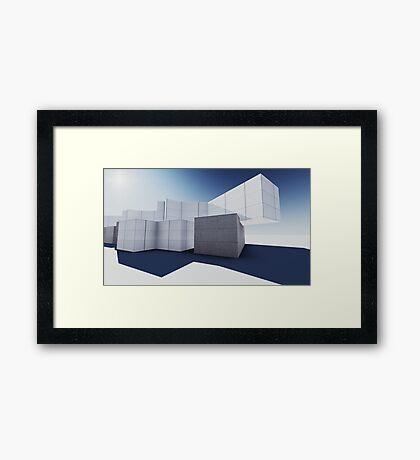 render 3 Framed Print