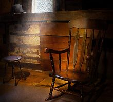 Furniture - Chair - Forgotten Memories  by Mike  Savad