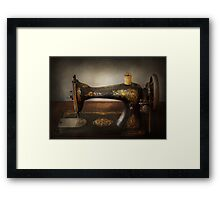 Sewing - Sing a song Framed Print