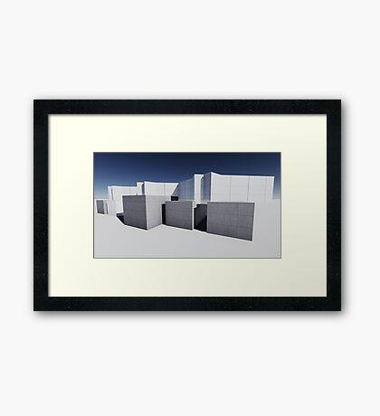 render 7 Framed Print
