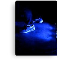 Nike in blue  Canvas Print