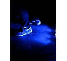 Nike in blue  Photographic Print