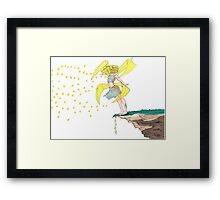 The Firefly Princess Framed Print