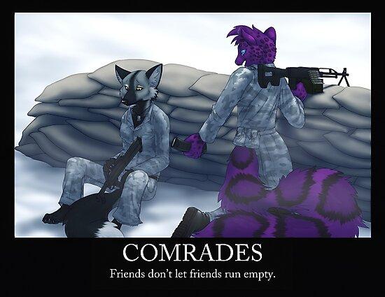 Comrades by farorenightclaw